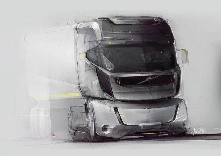 Volvo TX Concept Design Sketch by Njegos Lakic Tajsic