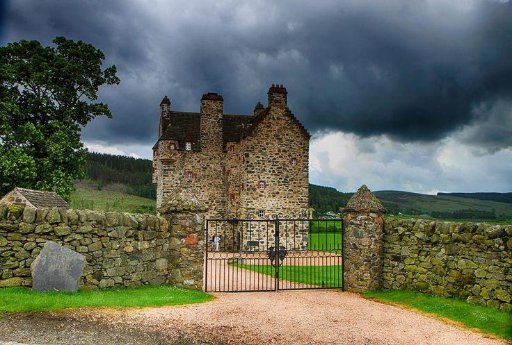 Forter Castle,Glenisla, Scotland.