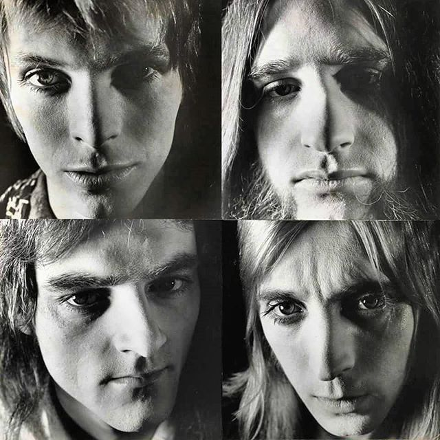 Ziggy Stardust and the Spiders from Mars  David Bowie Mick Ronson Trevor Bolder Woody Woodmansey  #DavidBowie #Bowie