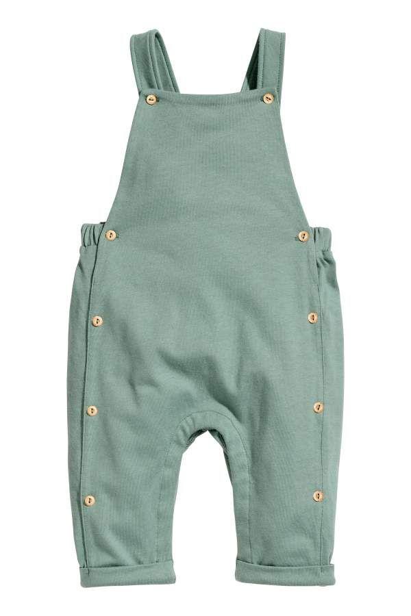 Copper overalls unisex Romper gender neutral onesie dungarees snap romper Baby Boy Romper