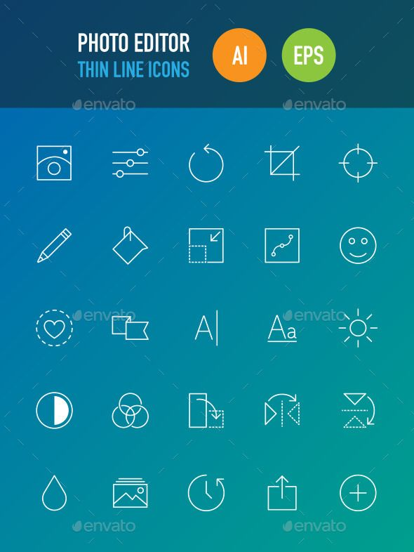 Photo Editor Icons #design Download: http://graphicriver.net/item/photo-editor-icons/9697185?ref=ksioks