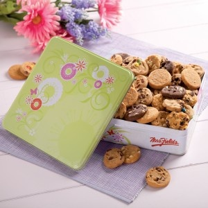 Win Mrs. Fields Cookies by answering the trivia question.