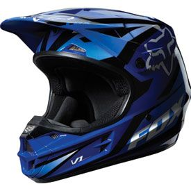 Fox Racing V1 Race Helmet 2014 | Riding Gear | Rocky Mountain ATV/MC #foxracing…