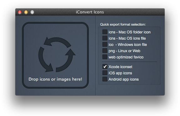 Convierte y crea #iconos para #Windows, #Linux, #Mac, #iOS y #Android