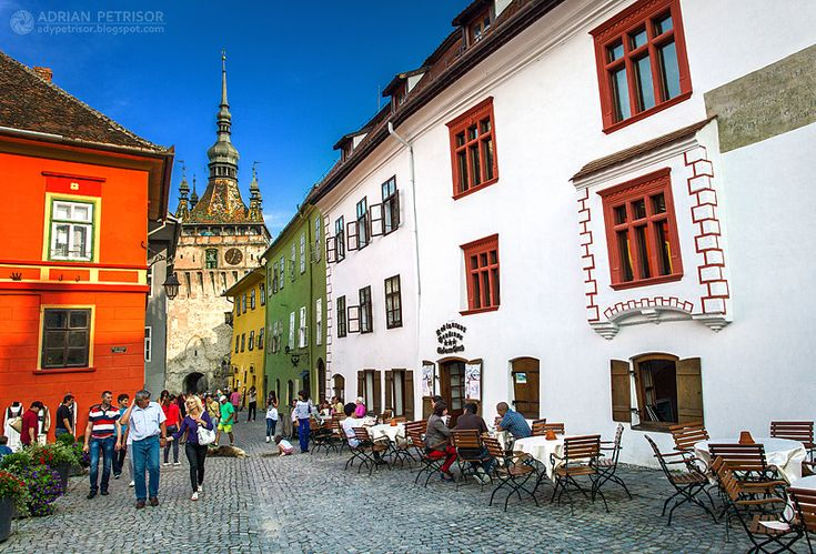 Adrian Petrisor - Photography: Sighisoara - the colorful city