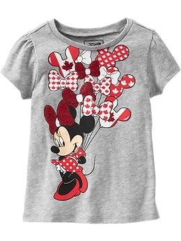 I ordered two Minnie Mouse Tees for my girls for Canada Day 2013