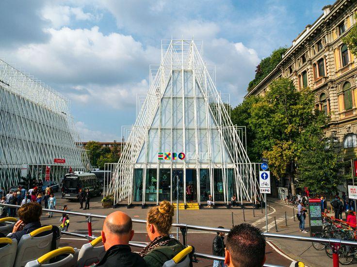 Blick auf EXPO Milano