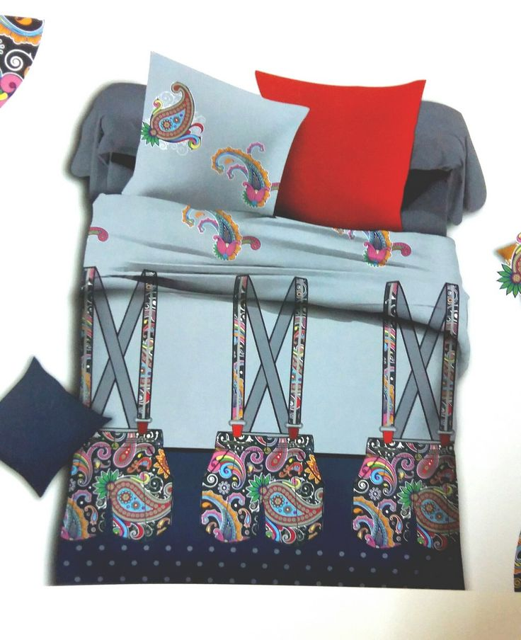 Luxurios Doublebed King Size Bed Sheet Set BLH02 (Multicoloured)