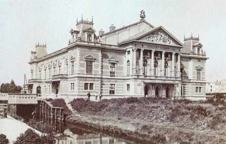 Concertgebouw, Museumplein, Amsterdam in 1900. #greetingsfromnl