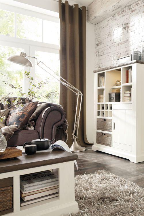 Die besten 25+ Wohnwand landhausstil Ideen auf Pinterest - einrichtungsideen wohnzimmer landhausstil