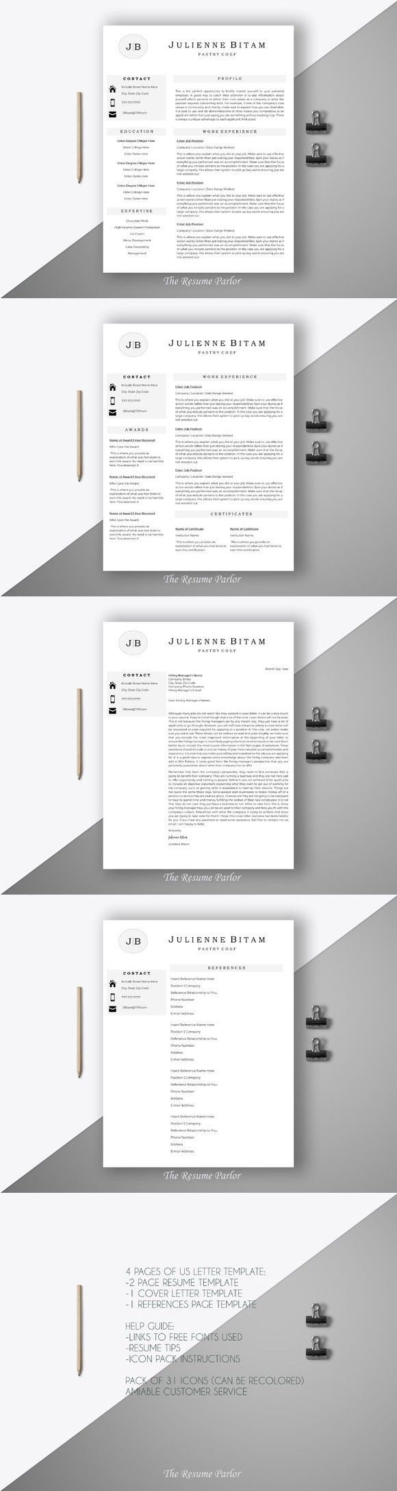 The  Best Chef Resume Ideas On   Cv Design