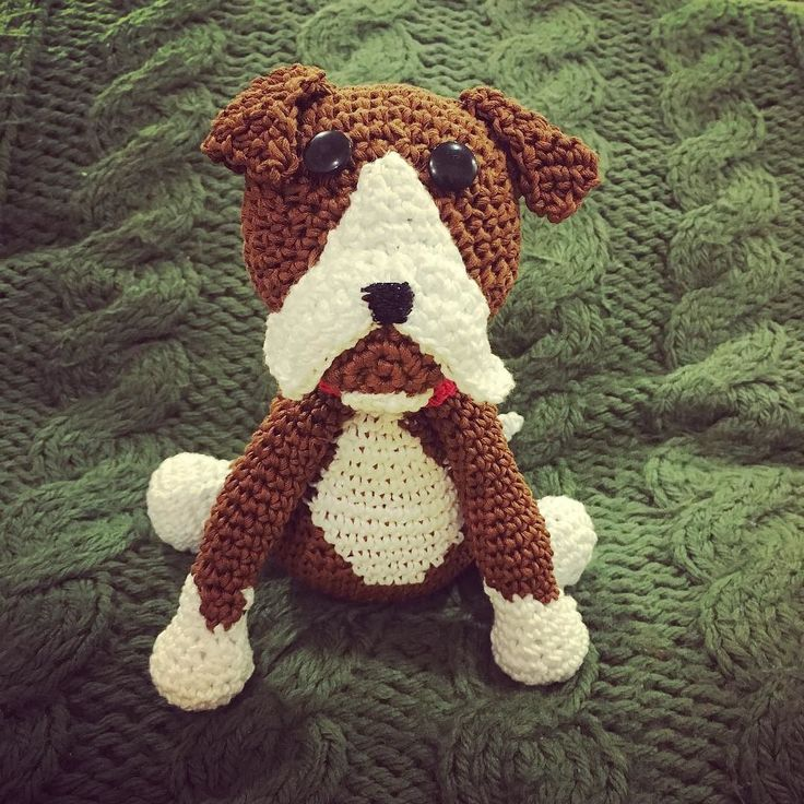 Zoe e arrivata in famiglia! #boxer #dog #pet #crochet # ...