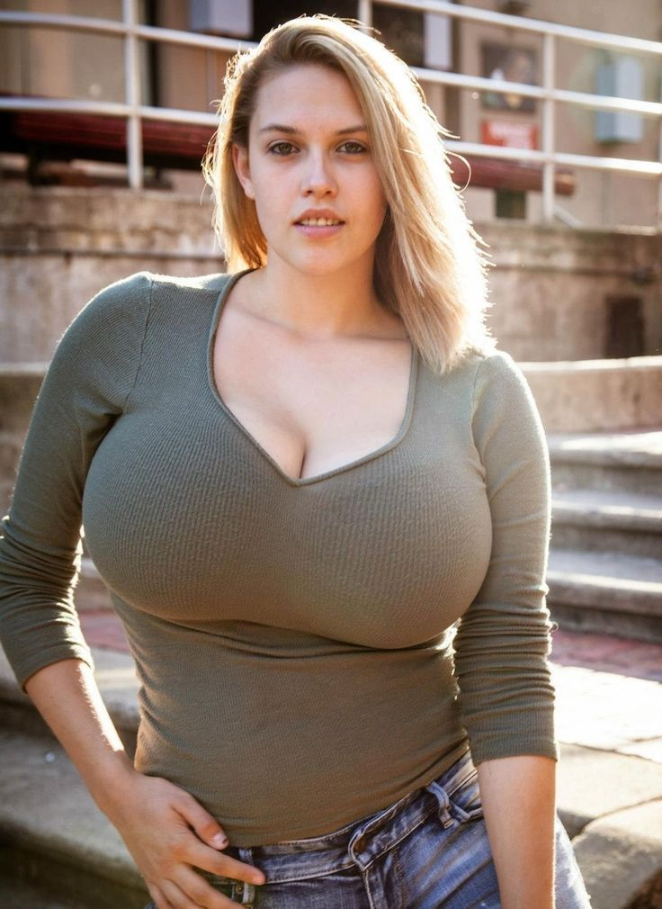 Busty large woman
