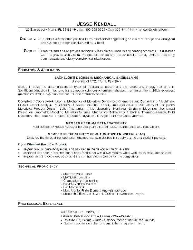 68 Beautiful Photos Of Sample Resume for Computer Science Ojt