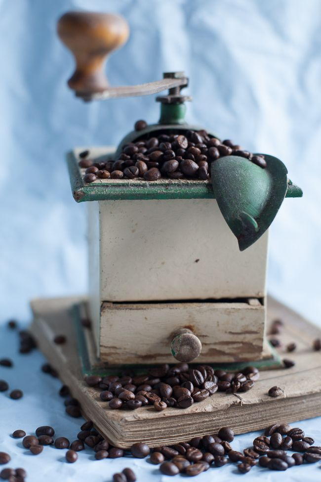 Traditional Coffee Grinder.