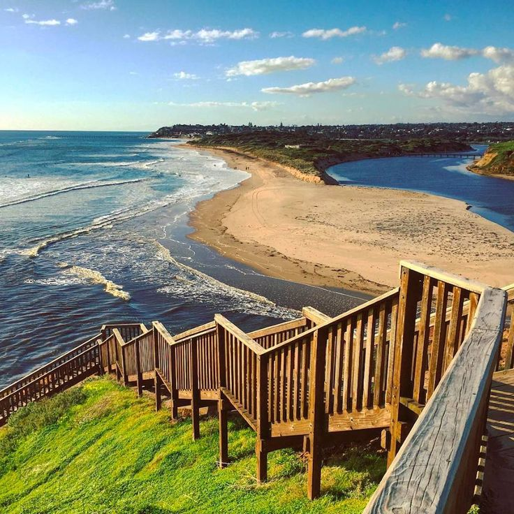 Wow! This snap captured by @peejaybee of the Port Noarlunga River Mouth in South Australia is breathtaking.