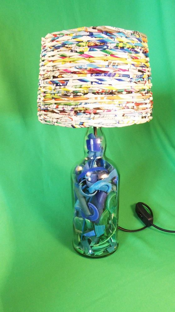Plastic beach lamps in plastics lights with
