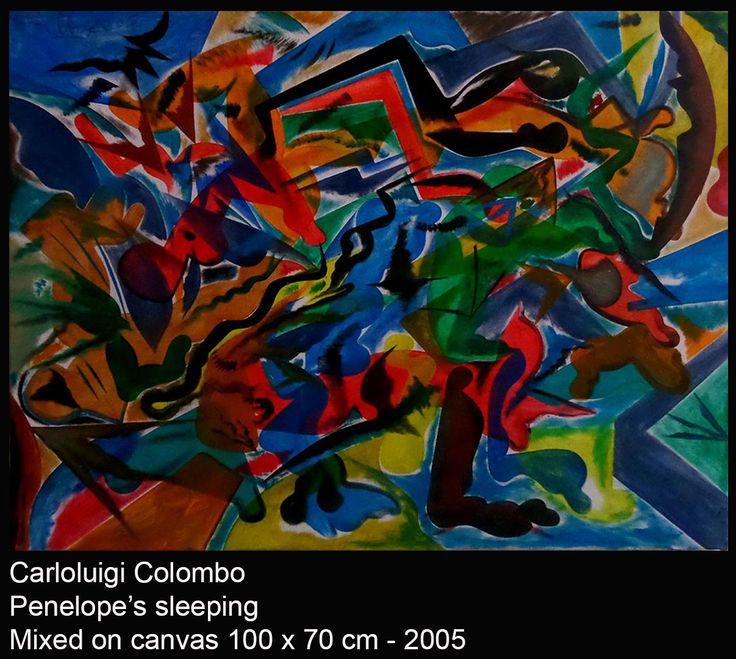 Penelope, painting, art, arte, pittura, astrazione, abstract, Italia, italian, Riolo Terme, Italy