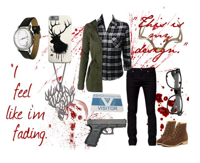Will Graham Style - female version | Hannibal by alex-aki on Polyvore