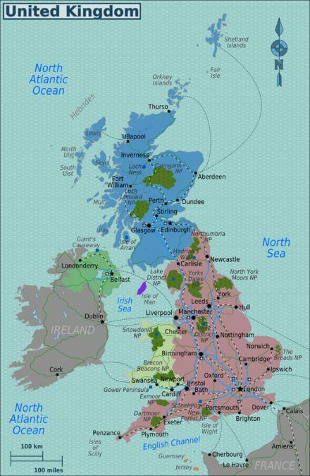 United Kingdom travel guide - Wikitravel (Wales, England, Scotland, Northern Ireland)