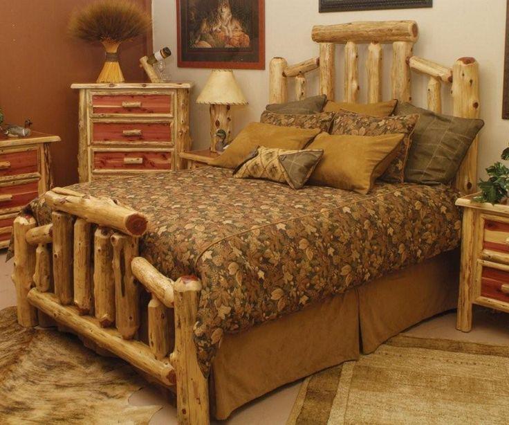 Pine Log Bedroom Sets Design Ideas