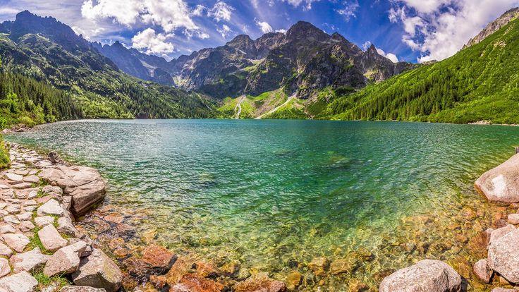 Morskie oko lake in tatra national park poland 1920 x