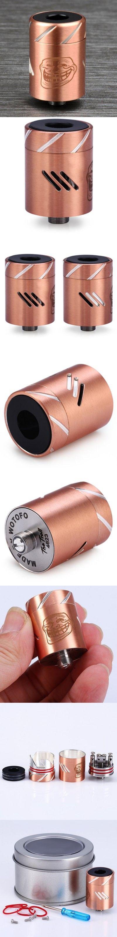Electronic Cigarettes | Original Wotofo The Troll RDA Rebuildable E - Cigarette Dripping Atomizer $14.52
