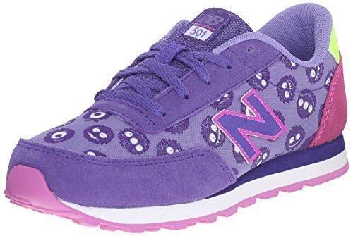 Oferta: 56€. Comprar Ofertas de New Balance KL501 Kids Lifestyle Cordón - Zapatillas de deporte para niña, color morado, talla 36 barato. ¡Mira las ofertas!