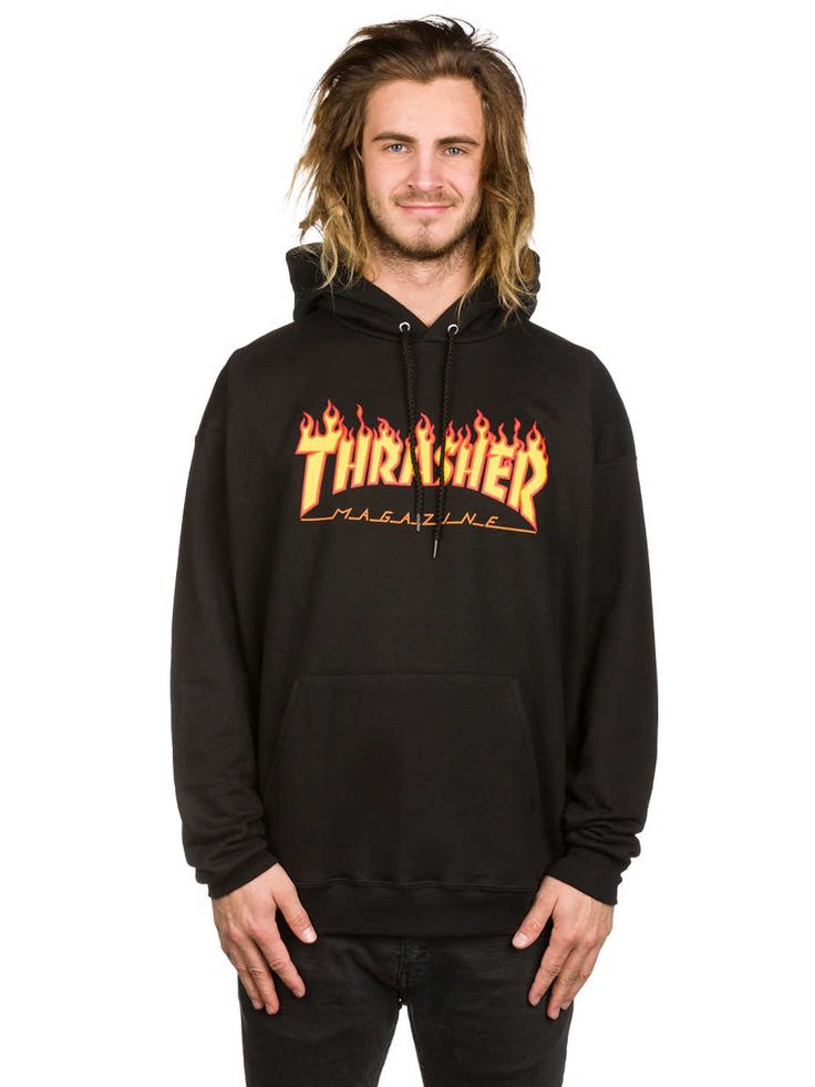 Buy Thrasher Flame Hoodie online at blue-tomato.com