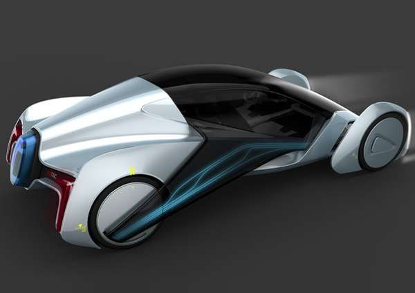 Glidex 2020 Concept Vehicle is Specially Designed for Chinese Roads trendhunter.com