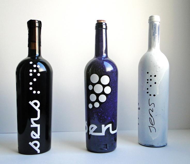 Botella de vino Sens