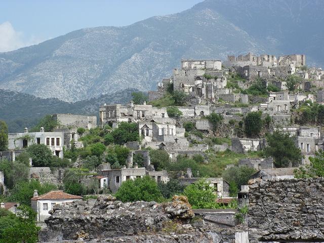 Kayakoy - abandoned Greek village nr. Olu Deniz, Turkey by sylvesterca1, via Flickr