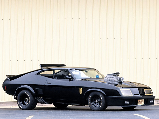 Mad Max. Ford Falcon GT Pursuit Special V8 Interceptor.
