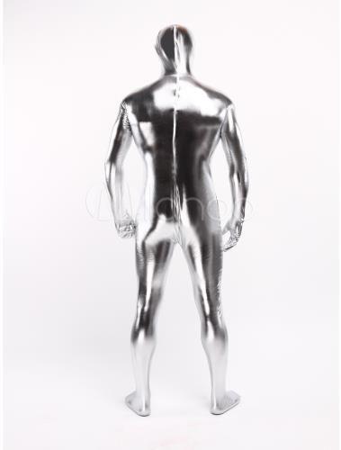 Серебряный серфер костюм