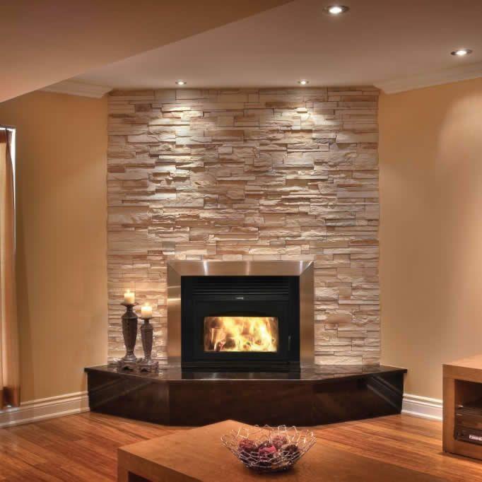 les 25 meilleures id es concernant foyers au bois sur. Black Bedroom Furniture Sets. Home Design Ideas