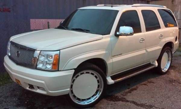 2002 Cadillac Escalade on 24 Crenshaw classic (baltimore) $5500