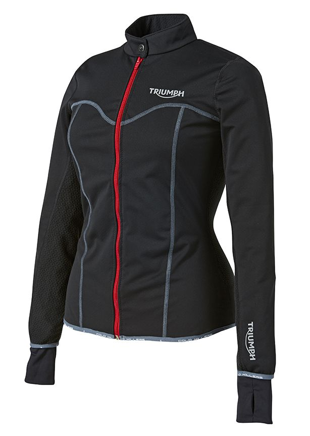 Your best defense against wind-chill is Triumph's Mid-Layer collection. Made-In-Britain and available now for both male and female riders. #PolarVortex