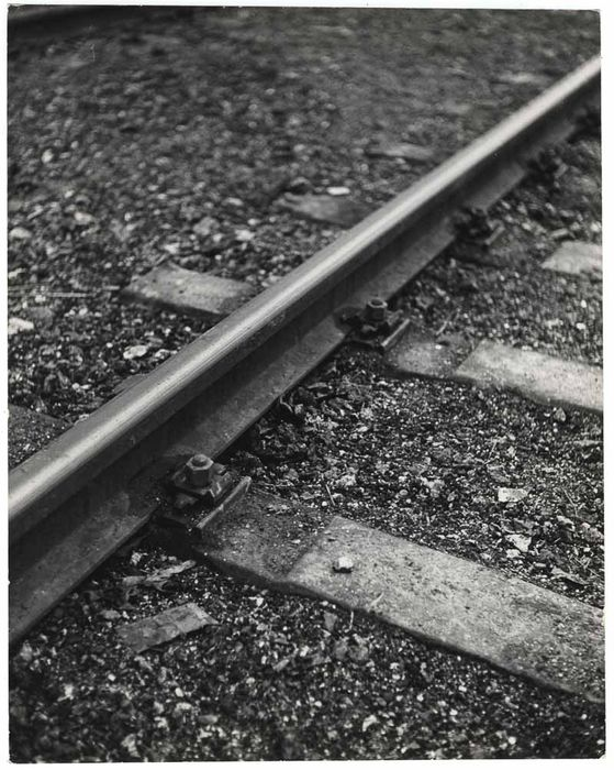 CHIM (DAVID SEYMOUR)   Vías del tren