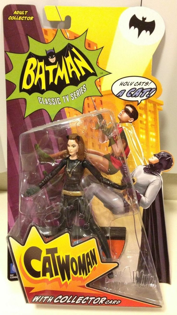 Batman Classic TV Series CATWOMAN Action Figure by Mattel MOC