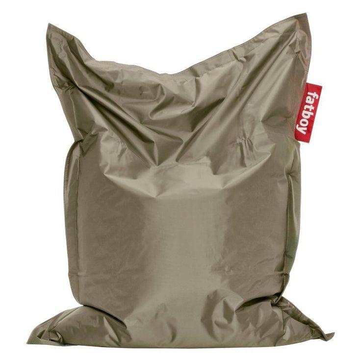 Fatboy, 4-Foot  Junior Large Bean Bag Chair Olive Green - JUN-OLV
