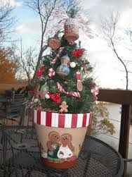 17 Best images about Christmas Pot Crafts on Pinterest | Christmas trees, Terracotta pots and ...
