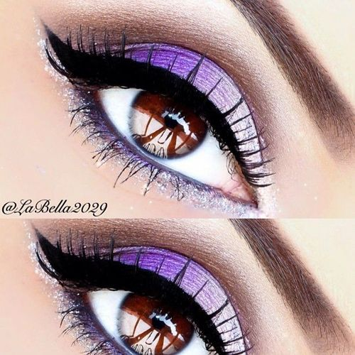 makeupbag:http://makeupbag.tumblr.com/: Purple Makeup, Beautiful Makeup, Purple Eyeshadows, Purple And Brown Eyeshadows, Eye Makeup, Eyeshadows Looks, Eyeshadows Blends, Makeup Eyeshadows, Hair