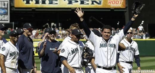 Felix Hernández lanzó el primer juego perfecto de los Marineros de Seattle
