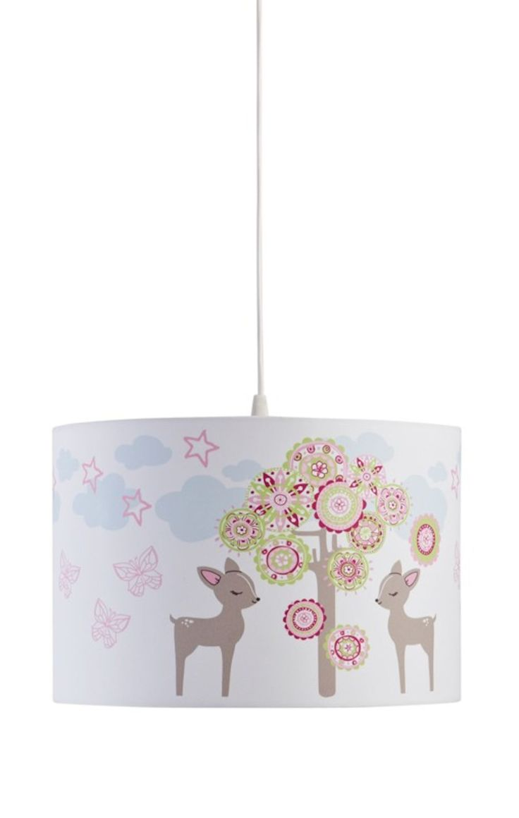 Kids Concept Taklampa Abbey, Rosa är en fin taklampa för barn från Kids Concepts.<br>Taklampan har motiv av rådjur och är en otroligt snygg inredningsdetalj till barnrummet. Lampsladd ingår. <br><br>Max 60W glödlampa, köps separat.<br><br>Mått: D 30 x H 20 cm<br><br>Motiv: Abbey <br><br>Färg: Rosa   <br>