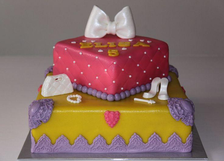 3D taarten - Koning Kikker Princess cake