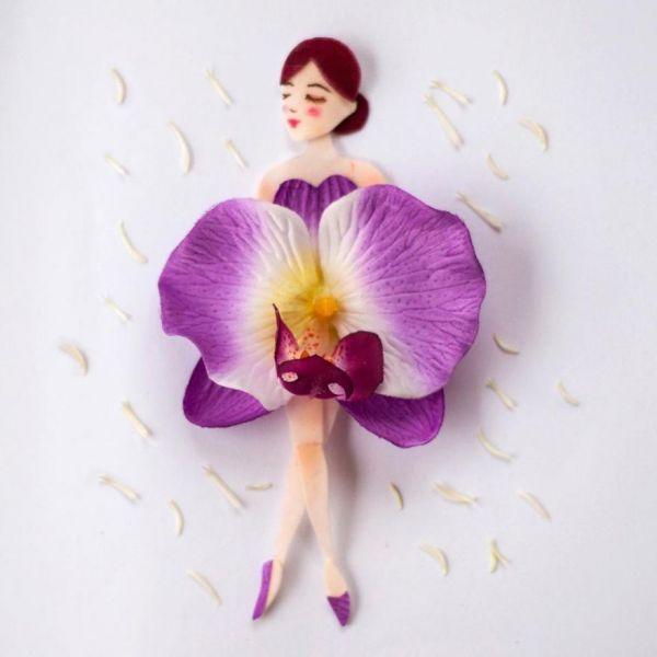 Lim Zhi Wei, Limzy de son surnom, est une artiste malaisienne de Singapour experte dans l'art floral