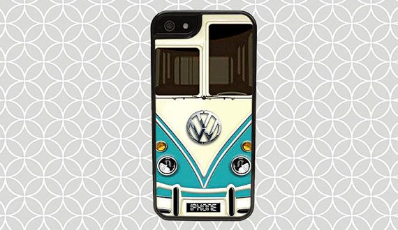 VW Minibus Teal Case iPhone 6/6s iPhone 6/6s by CaseCollections