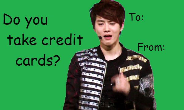 EXO Valentines Day Cards  EXO  Funny  Pinterest  Exo and Kpop
