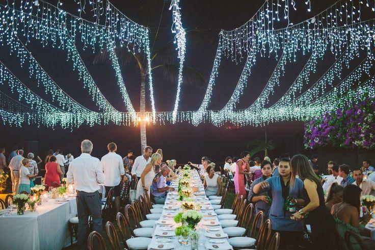 Wedding Inspo / Bali Wedding  / Wedding Decor / Event Lighting