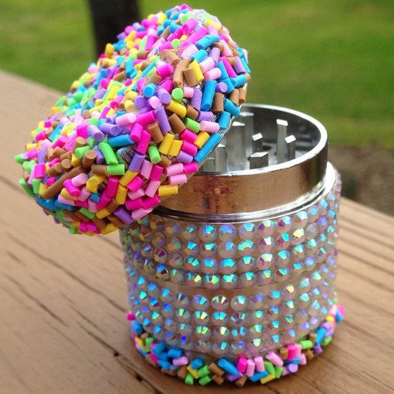 GRINDER MINIS Collection Rainbow by OnMyGrindAccessories on Etsy  #cake #cakeday #cday #420 #weed #munchies #cannabis #kush